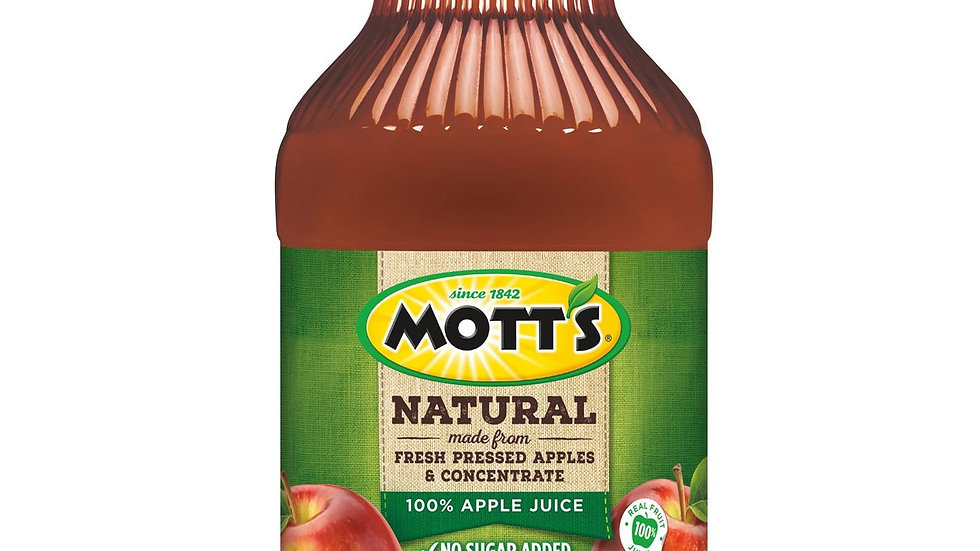 Mott's Natural Apple Juice - 64oz