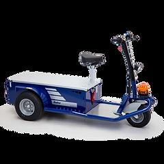 JACK L jest elektrycznym ciągnikiem służącym do transportu personelu i towarów w celu konserwacji i przeglądów.