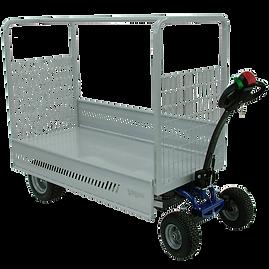 JESPI L - Pojazd elektryczny idealny do łatwego i szybkiego transportu ładunków do 600 kg (1323 funtów), z szeroką gamą akcesoriów.
