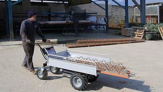 Zallys HS4 carrinho de transporte elétrico