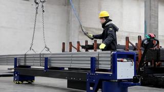 Zallys M8 Carrinho motorizado para transporte de barras e tubos