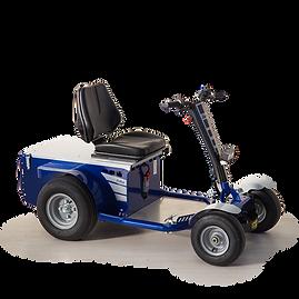 S1 to czterokołowy ciągnik z miejscem dla operatora, służący do przemieszczania i transportu personelu i towarów w celu konserwacji i kontroli.