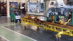 rebocador elétrico compacto Zallys M12
