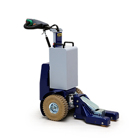 Zallys M14 to elektryczny ciągnik z hydraulicznym systemem podnoszenia, idealne rozwiązanie do transportu wózków i przyczepek dwukołowych.