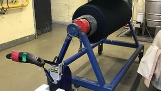 Zallys M16 S rebocador elétrico com elevação hidráulica