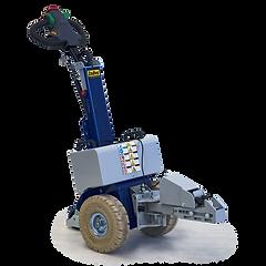 Zallys M12 to elektryczny ciągnik wyposażony w elektryczny zaczep, który może ciągnąć, pchać i kierować ładunkami kołowymi do 1200 kg / 2646 funtów.