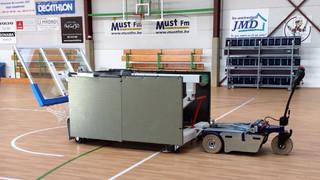 Zallys M6.5 trator industrial de reboque elétrico