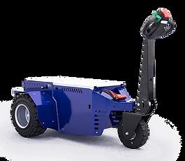 M11 Rebocador elétrico a bateria y operador a pé