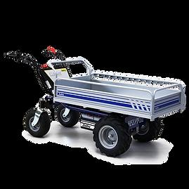 HS4 - Elektryczny 4-kołowy wózek platformowy o ładowności do 600 kg (1323 funty), idealny do codziennych operacji za jednym ładowaniem baterii.