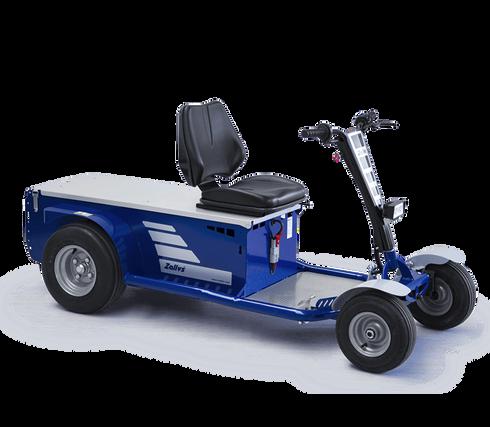 Zallys S2 veículo elétrico Industrial com plataforma