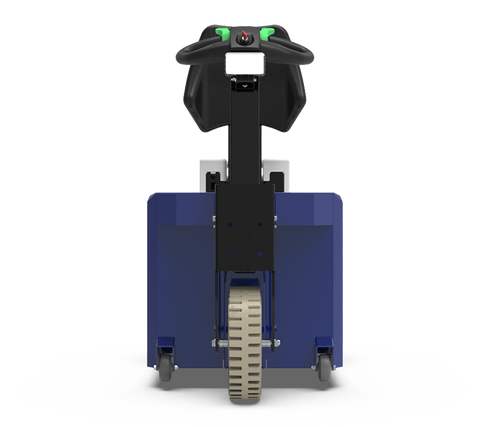 Zallys K2 rebocador elétrico com operador embarcado