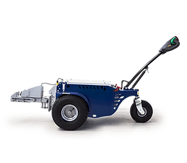 M9 electric tugger with electric hitch and tilting arm