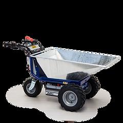 Zallys D1 to elektryczny ciągnik zaprojektowany do pracy z ładunkami do 300 kg (661 funtów).