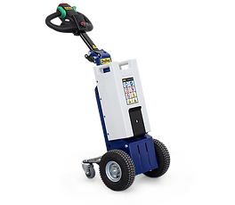 M1 Compact electric tugger for towing loads in small places