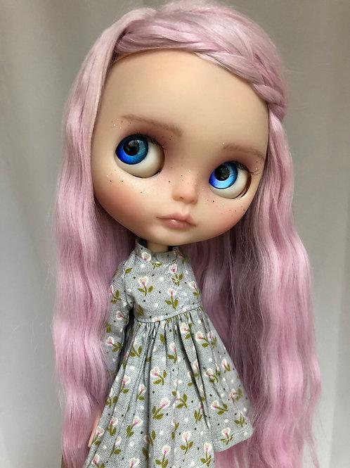 Lila ~ Melacacia Custom Blythe Doll