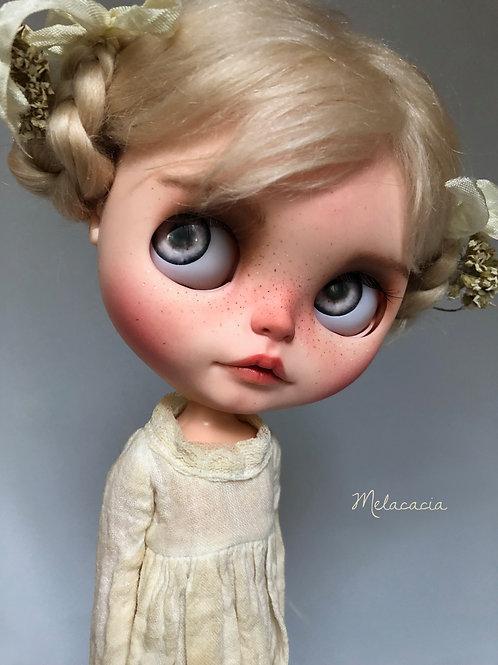 Yarrow ~ Melacacia Custom Blythe Doll