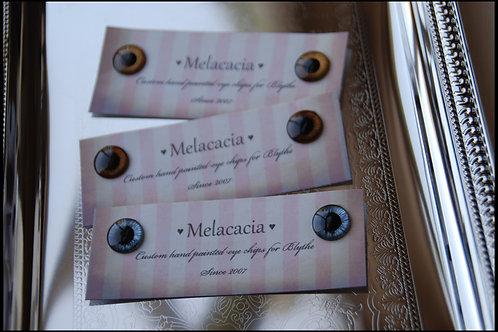 Melacacia Hand Painted Eyechips ~ Coming Soon!