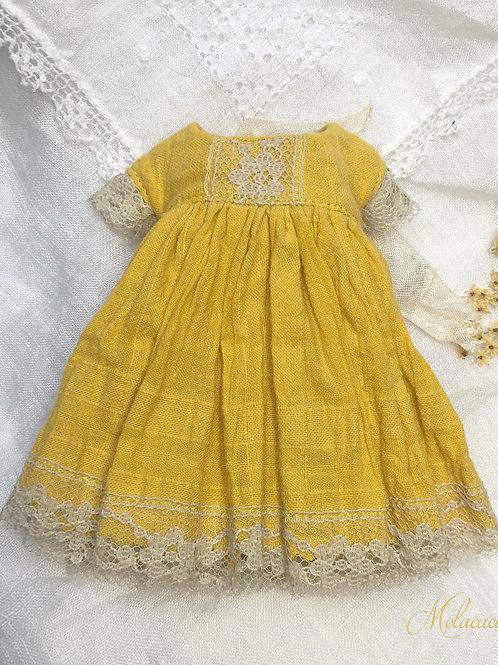 Melacacia Dress for Blythe ~ Sunflower Yellow