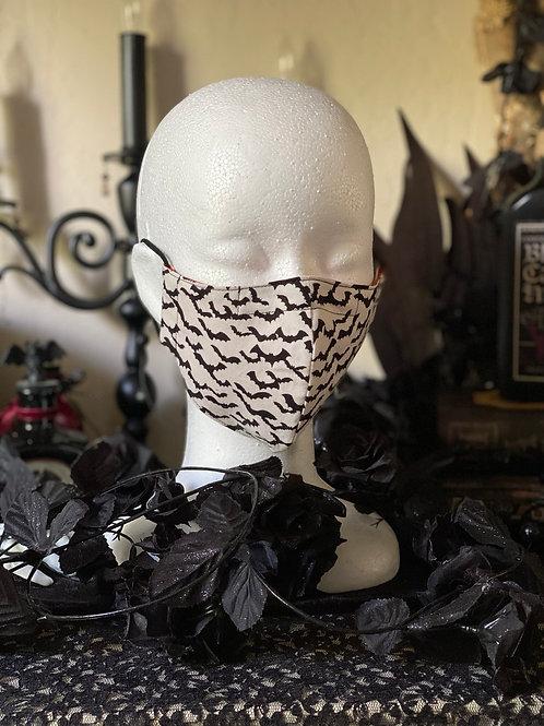 Unisex Cotton Face Mask ~ Bats