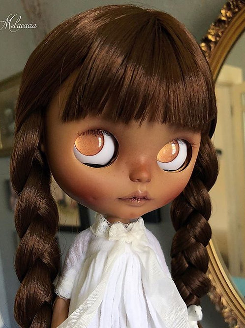 Nadea ~ Melacacia Custom Blythe Doll