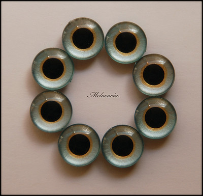 Melacacia Hand Painted Eye Chips  ^__^