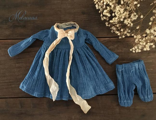 Blue Goddess Set with Ribbon