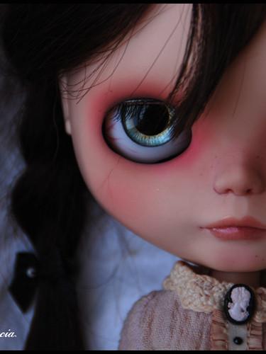 Mathilda ~ Melacacia OOAK Custom Blythe