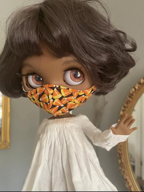 Blythe Doll Mask ~ Candy Corn