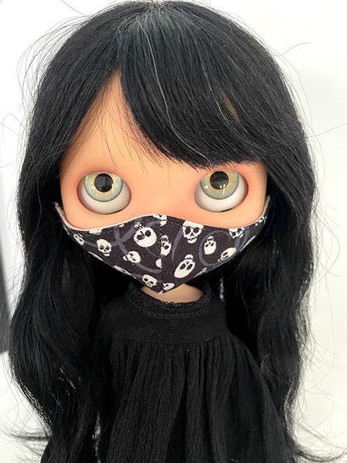 1 Blythe Doll Mask ~ Skulls