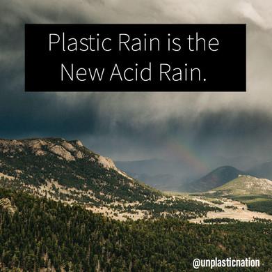 Plastic Rain is the New Acid Rain