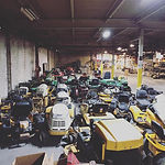 Over 100 Parts Mowers Under Roof.jpg