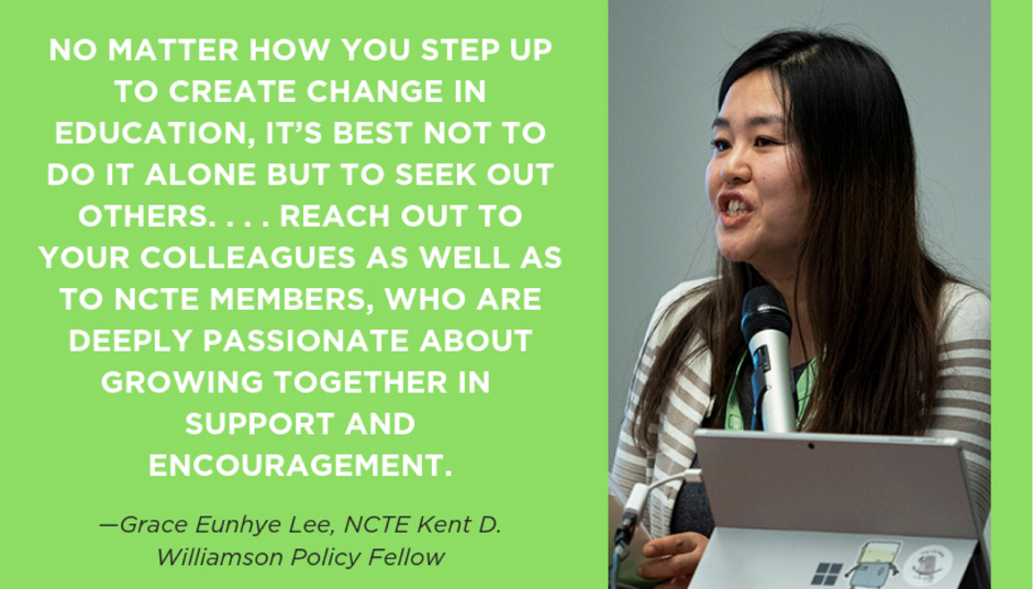 The Value of Staying Connected through NCTE