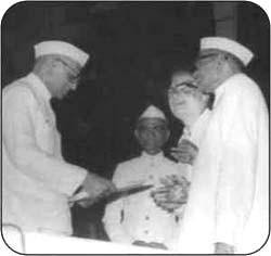 Prime Minister Sh. Morarji Desai