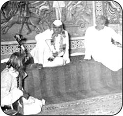 Union Home Minister Dr. K.N. Katju & CM Sh. J.N. Vyas
