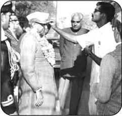 Noted Gandhian Dr. Shrimannarain Agrawal