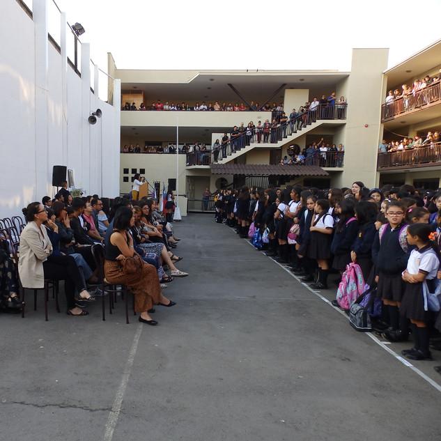 Acto inicio año escolar 2020