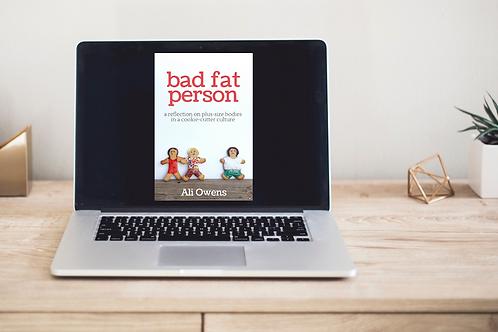 Bad Fat Person - eBook