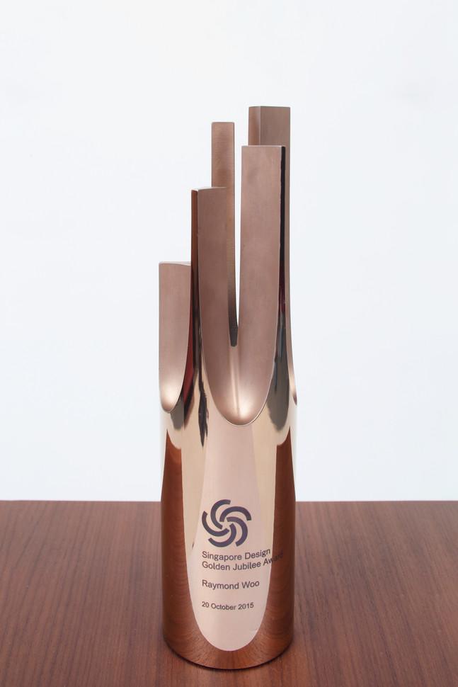 Jubillee Award Trophy - DesignSingapore