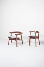 Minzu Round Lounge Chair / Dining Chair