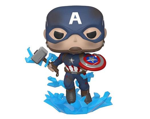 Capitán América con Broken Shield - Avengers: Endgame  Funko Pop!