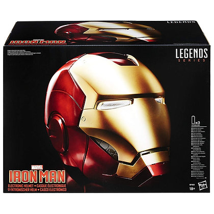 IRON MAN Casco réplica 1:1 Electrónica - Marvel Legends - Marvel