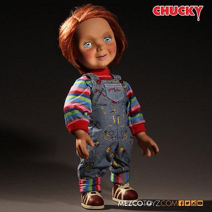 """CHUCKY Talking Doll Good Guys 15"""" MEZCO TOYZ"""