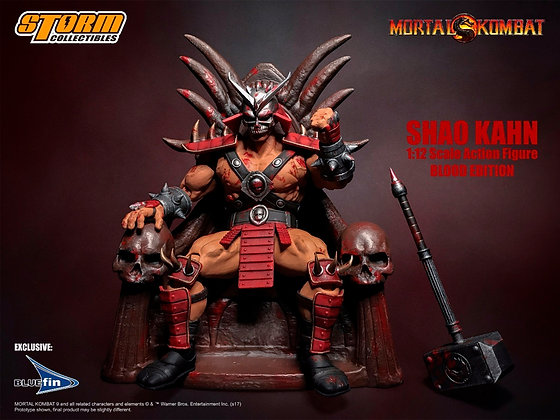 SHAO KAHN (Edición especial) Mortal Kombat 1:12 STORM COLLECTIBLES