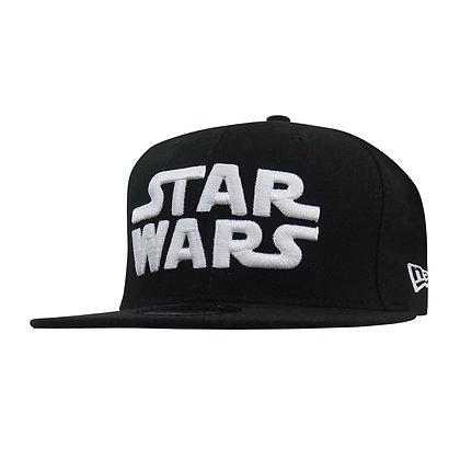 STAR WARS con logo blanco 9Fifty Ajustable Gorra NEW ERA