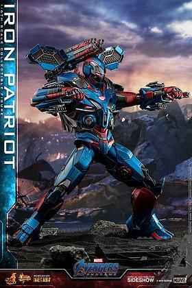 Iron Patriot - Avengers: Endgame - Movie Masterpiece Series 1:6 Hot Toys DIECAST