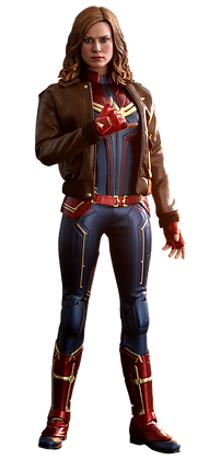 Captain Marvel Deluxe Version 1:6 Hot Toys Captain Marvel - Movie Masterpiece