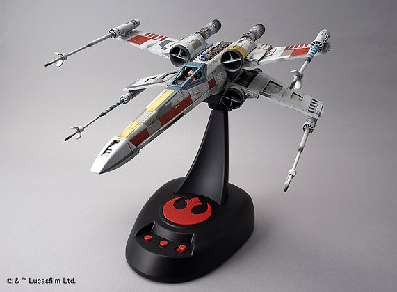 X-Wing Starfighter (Moving Edition)1/48 Scale Model Kit Star Wars BANDAI