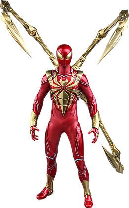 Spider-Man (Iron Spider Armor) 1:6 Hot Toys Video Game Masterpiece