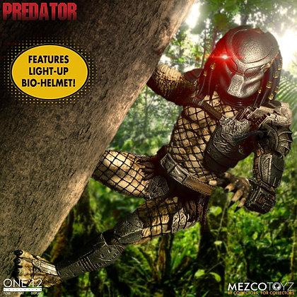Predator Jungle Hunter Deluxe Edition ONE:12 Mezco Toys