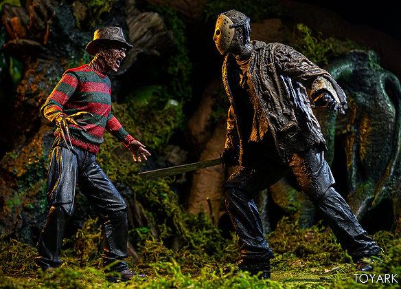 """PACK Jason vs Freddy Ultimate NECA 7"""""""